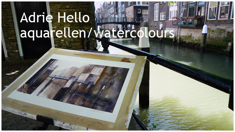 Adrie Hello aquarellen/watercolours